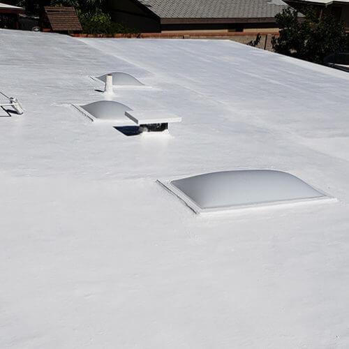 Flat Coat Roof 1